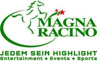 Magna Racino Logoweiss